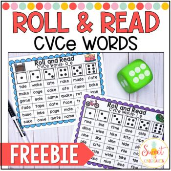 Roll and Read {CVCe Fluency} FREEBIE