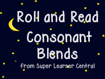 Roll and Read Consonant Blends