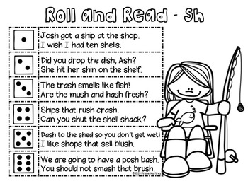 Roll and Read (Digraphs)