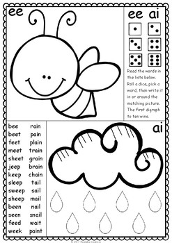 Roll and Read Digraphs