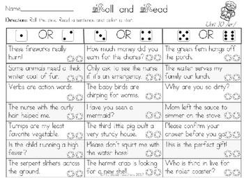 Roll and Read ER Variants (Multisyllabic)  Interventions