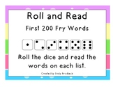 Roll and Read First 200 Fry Words