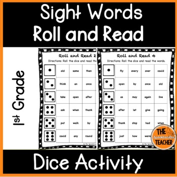 Roll and Read: First Grade Sight Words