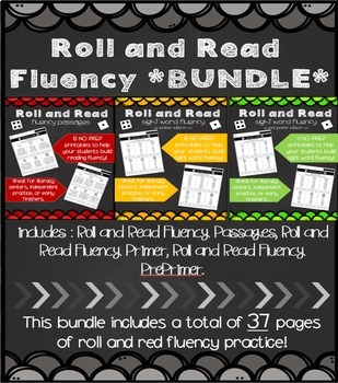 Roll and Read Fluency *BUNDLE*