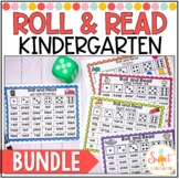 Kindergarten Roll and Read Fluency BUNDLE