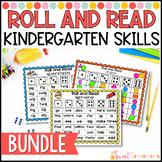 Kindergarten Roll and Read Game BUNDLE