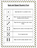 Roll and Read Fluency Fun Dice Game