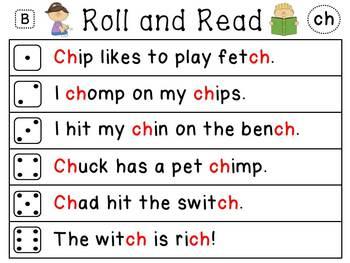 Reading Fluency Word Work Phonics Centers