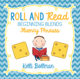 Roll and Read Fluency Phrases {Beginning Blends}