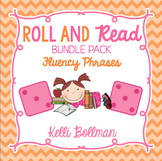 Roll and Read Fluency Phrases Bundle Pack {Short Vowels, Long Vowels, Digraphs}