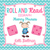 Roll and Read Fluency Phrases {Digraphs}