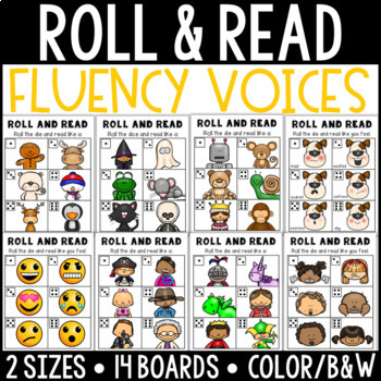 Roll and Read: Fluency Voices