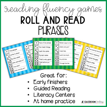 Roll and Read:  Fry Phrases Fifth 100 Words