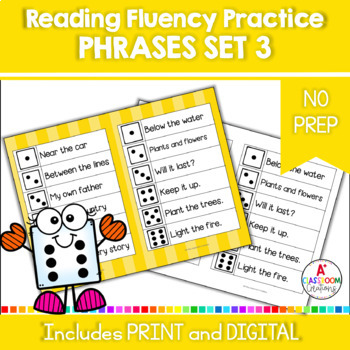 Roll and Read:  Fry Phrases Third 100 Words