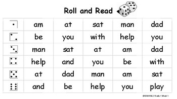 Journeys 2017 Roll and Read High Frequency & Phonics Practice