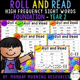 Roll and Read High Frequency Sight Words - Distance Learning