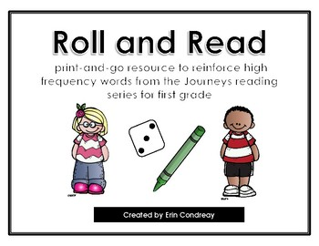 Roll and Read Journeys High Frequency Words
