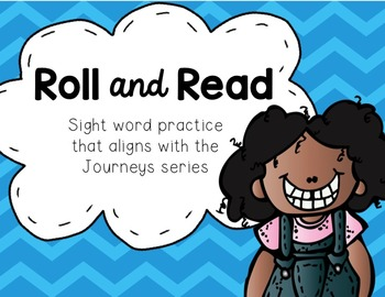 Roll and Read Journeys Sight Word Practice