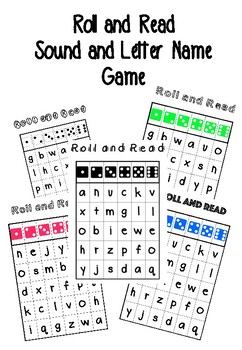 #betterthanchocolate Roll and Read Letter Game