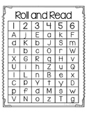 Roll and Read Letter Naming