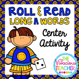 Long A Words and Nonsense Words Roll and Read Games