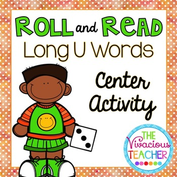 Long U Words and Nonsense Words Roll and Read Games
