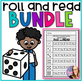 Roll and Read MEGA BUNDLE (K-2)