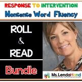 Roll and Read Nonsense Word Fluency Bundle