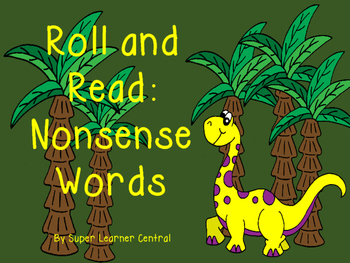 Roll and Read Nonsense Words