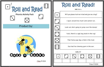 Roll and Read Phonics Activity Pack