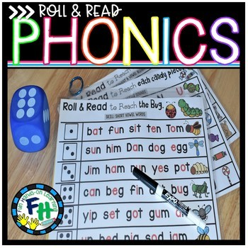 Roll and Read Phonics (Level A)