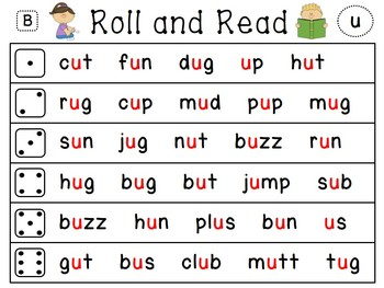 Reading Fluency Word Work Centers