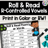 Roll and Read R-Controlled Vowels! Differentiated and Perf