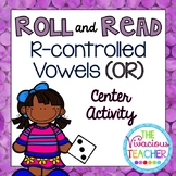 R-Controlled Vowels ('OR' Words and Nonsense Words) Roll and Read Games