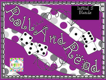 Roll and Read  S BLENDS FLUENCY Interventions