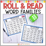 Roll and Read- Short Vowel Word Families Fluency
