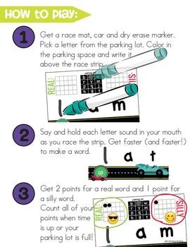 Roll and Read Short Vowels | CVC Blending | Kindergarten Reading Activities