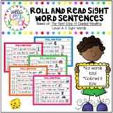 Roll and Read Sight Word Sentences - Jan Richardson Level A-E