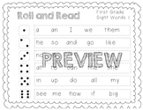 Roll and Read Sight Words