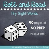 Roll and Read [Fry Sight Words]