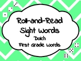Roll-and-Read Sight Words Dolch First Grade