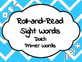 Roll-and-Read Sight Words Dolch Primer