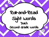 Roll-and-Read Sight Words Dolch Second Grade