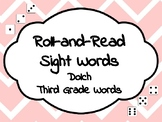 Roll-and-Read Sight Words Dolch Third Grade
