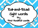 Roll-and-Read Sight Words Fry-First Hundred Words