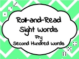 Roll-and-Read Sight Words Fry-Second Hundred Words