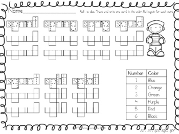 Roll and Read Three Letter S Blends (squ,str, spr, spl, scr) Interventions