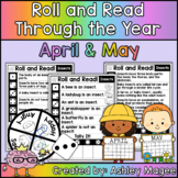 Roll and Read Through the Year: April and May Fluency Practice