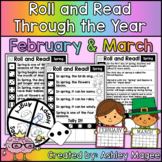 Roll and Read Through the Year: February and March Fluency