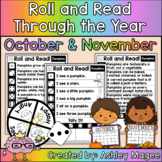 Roll and Read Through the Year: October and November Fluen